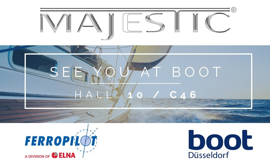See Majestic at the Dusseldorf Boatshow - Hall 10 / C46 -